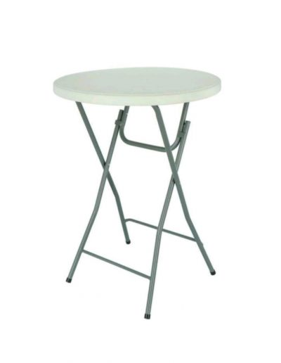 Staan tafel hoogte 110cm - breedte 80cm - <strong>€ 4,50</strong>